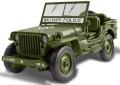 お取り寄せ予約品 〜8月頃 ミニカー アメリカンマッスル American Muscle ダイキャスト 1/18 AWML002OV  ジープ WILLY 1941 Army (オリーブドラブ) 4548565346349