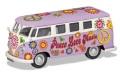 お取り寄せ予約品 6月頃 ミニカー CORGI(コーギー) ダイキャストモデル 1/43  CGCC02730 VW キャンパーバン Peace Love & Music