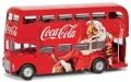 お取り寄せ予約品 12月頃 ミニカー CORGI(コーギー) ダイキャストモデル 1/64 CGGS82331 ロンドンバス(2階建て)クリスマス Coca Cola 4548565375868