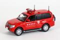 ミニカー カーネル CAR-NEL 1/43  CN431004 三菱 パジェロ 2010 東京消防庁査察広報車両 4548565224210