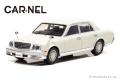 予約品 10月頃 ミニカー CARNEL(カーネル) 1/43 CN431006 トヨタセンチュリー (GZG50) 2011 パールホワイト 限定500台 4548565353132