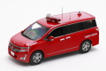 ミニカー カーネル 1/43  CN431101 日産 エルグランド ハイウェイスター 2011 東京都武蔵野市消防団指揮車両 4548565204496