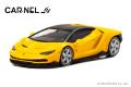 予約品 10月頃 ミニカー CARNEL(カーネル) 1/64 CN640025 ランボルギーニセンテナリオ Lamborghini Centenario イエローパール 限定999台 4548565372652