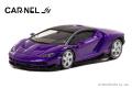 予約品 10月頃 ミニカー CARNEL(カーネル) 1/64 CN640026 ランボルギーニセンテナリオ Lamborghini Centenario  パープル 限定999台 4548565372669