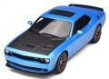 予約品 4月頃 ミニカー GT SPIRIT レジンモデル(開閉機構なし)  1/18 GTS006US ダッジ チャレンジャー SRT ヘルキャット (ブルー) 4548565344017