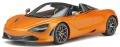 お取り寄せ予約品 7月頃 ミニカー GT SPIRIT(GTスプリット) (開閉機構なし)レジンモデル 1/18 GTS819 マクラーレン 720S スパイダー 2018 (オレンジ) 4548565406760
