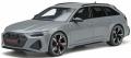 お取り寄せ予約品 10月頃 ミニカー GT SPIRIT(GTスプリット) (開閉機構なし)レジンモデル 1/18 GTS847 アウディ RS 6 アバント 2020 (グレー) 4548565406876