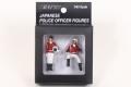 限定品 レイズ RAI'S 1/43 H7-43F2 警察官フィギュア 交通取締自動二輪車 女性隊員 (2type set) 限定1000 4580198720974