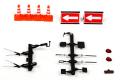 ミニカーアクセサリー レイズ RAI'S 1/43 H7-PFK4 警察車両用 アクセサリーキット 4548565304523