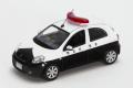 限定ミニカー レイズ RAI'S 1/43  H7431106 日産 マーチ (K13) 2011埼玉県警察所轄署小型警ら車両 1000個限定 4548565204441