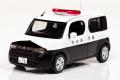 予約品 〜8月頃 ミニカー レイズ RAI'S 1/43 H7431204 日産 キューブ (Z12) 2012 大分県警察所轄署小型警ら車両 限定600pcs 4548565320554