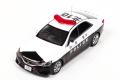 ミニカー レイズ RAI'S 1/43 H7431408 トヨタ マークX 250G Four (GRX135) 2014 山梨県警察所轄署地域警ら車両 限定1.000台 4548565294817
