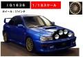 予約品 2019年6月頃 ミニカー ignition model(イグニッションモデル) レジンモデル 1/18 IG1636 スバル インプレッサ 22B-Stiバージョン GC8改 ライドポッドバージョン ブルー OZタイプ17インチホイール(ゴールド)