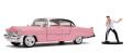 予約品 10月頃 ミニカー ジャダトイズ ジャダトイズ Jada Toys HOLLYWOOD RIDESシリーズ 1/24 JADA31007 1955 キャデラック フリートウッド エルビス・プレスリー フィギュア付 4548565391783