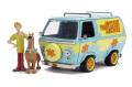 予約品 10月頃 ミニカー ジャダトイズ ジャダトイズ Jada Toys HOLLYWOOD RIDESシリーズ 1/24 JADA31720 ミステリー マシーン スクービー&シャギー フィギュア付 (スクービー・ドゥ) 4548565391875