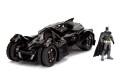 予約品 10月頃 ミニカー ジャダトイズ JADATOYS HOLLYWOOD RIDESシリーズ ダイキャストモデル 1/24 JADA98037 バットモービル 2015 バットマン フィギュア付 (バットマン アーカム・ナイト) 4548565391851