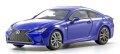 予約品 6月頃 ミニカー  京商 KYOSHO ダイキャストモデル 1/43 KS03697BL レクサス RC350 F SPORT ヒートブルーコントラストレイヤリング 4548565384952