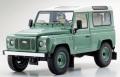 お取り寄せ予約品 8月頃 再発売 ミニカー KYOSHO レジンモデル 1/18 KS08901GGR ランドローバー ディフェンダー ヘリテージ(グリーン) 4548565314973