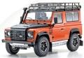 お取り寄せ予約品 8月頃 再発売 ミニカー KYOSHO レジンモデル 1/18 KS08901P ランドローバー ディフェンダー アドベンチャー(オレンジ) 4548565314997