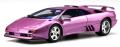 お取り寄せ予約品 10月頃 ミニカー 京商 レジンモデル (開閉機構なし)1/18 KSR18501V ランボルギーニ ディアブロ SE30 イオタ(バイオレット)世界限定: 500個 4548565330003