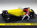 ミニカー BRUMM(ブルム) 1/43 L07 アルファ・ロメオ 1750 ルパン三世 「WANTED」 ルパン アクション フィギュア付き 8020677022367