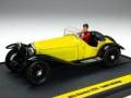 ミニカー BRUMM(ブルム) 1/43 L08 アルファ・ロメオ 1750 ルパン三世 「WANTED」 ドライビング ルパン アクション フィギュア付き 8020677022374