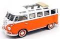 ミニカー ラッキーダイキャスト LUCKY DIE CAST 1/43 LUC43208OR VW マイクロバス オープン サンルーフ ver 1962(オレンジ)