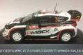 予約品 9月頃 ミニカー MINItec ミニテック 1/43 MNP507 フォード フィエスタ WRC 2017年ウェールズ 優勝 #3 E.Evans
