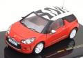 ミニカー IXO 1/43 MOC122 シトロエン DS3 「スポーツシック」 2011 レッド/ホワイト