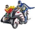 お取り寄せ品 順次 ミニカー マテル MATTEL 1/12 MTCMC85 バットマン クラシック TVシリーズ バットサイクル (バットマン&ロビン フィギュア付) 887961151534