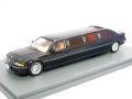 ミニカー NEO 1/43 NEO45345 BMW E38 ストレッチ リムジン バージョン1 2000 ダークブルー