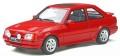 予約品 10月頃 ミニカー  OttO mobile レジンモデル(開閉機構なし) 1/18 OTM826 フォード エスコート Mk.4 RS ターボ (レッド)世界限定 3,000個 4548565390878