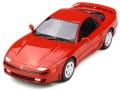 お取り寄せ予約品 9月頃 ミニカー OttO mobile レジンモデル (開閉機構なし)  1/18 OTM233 三菱 GTO ツインターボ(レッド)世界限定 1,500個 4548565350216