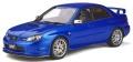 予約品 2020年1月頃 ミニカー OttO mobile (オットーモビル) レジンモデル(開閉機構なし) 1/18 OTM322 スバルSTI S204 (ブルー) 世界限定 1,500個 4548565378906
