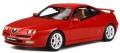 予約品 2020年3月頃 ミニカー OttO mobile (オットーモビル) レジンモデル(開閉機構なし) 1/18 OTM335 アルファロメオ GTV V6( レッド) 世界限定 999個 4548565383429