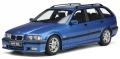 予約品 8月頃 ミニカー  OttO mobile (オットーモビル) レジンモデル(開閉機構なし) 1/18 OTM358 BMW 328i E36 ツーリング M パッケージ (ブルー) 世界限定 3,000個 4548565408306