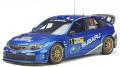 お取り寄せ予約品 6月頃 ミニカー  OttO mobile レジンモデル(開閉機構なし) 1/18 OTM365 スバル インプレッサ WRC 2008 #3 (ブルー) 世界限定 3,000個 4548565404438