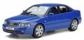 予約品 8月頃 ミニカー  OttO mobile (オットーモビル) レジンモデル(開閉機構なし) 1/18 OTM373 アウディ S4 2.7 ビターボ セダン (ブルー) 世界限定 3,000個 4548565408320