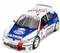 お取り寄せ予約品 9月頃 ミニカー OttO mobile レジンモデル (開閉機構なし) 1/18 OTM664 プジョー 306 マキシ (Mk.1) Tour de Corse (ホワイト/ブルー/レッド)世界限定 2,500個 4548565350278