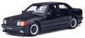 予約品 2020年2月頃 ミニカー OttO mobile (オットーモビル) レジンモデル(開閉機構なし) 1/18 OTM754 メルセデスベンツ 190E 2.3 AMG(ブラック)世界限定 2,000個 4548565378883