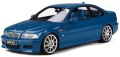 予約品 2020年2月頃 ミニカー OttO mobile (オットーモビル) レジンモデル(開閉機構なし) 1/18 OTM790 BMW M3 (E46) (ブルー) 世界限定 2,000個 4548565378890