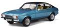 お取り寄せ予約品 2020年4月頃 ミニカー OttO mobile (オットーモビル) レジンモデル(開閉機構なし) 1/18 OTM810 フォード カプリ Mk2( ブルー)世界限定 999個 4548565384051