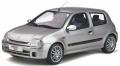 お取り寄せ予約品 2020年1月頃 ミニカー OttO mobile (オットーモビル) レジンモデル(開閉機構なし) 1/18 OTM841 ルノー クリオ 2 RS フェーズ1 (シルバー) 世界限定 999個 4548565378944