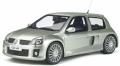お取り寄せ予約品 11月頃 ミニカー  OttO mobile レジンモデル(開閉機構なし) 1/18 OTM842 ルノー クリオ V6 フェーズ2 (シルバー)世界限定 2,000個 4548565393572
