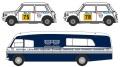 予約品 10月頃 ミニカー  オックスフォード Oxford 1/76 OX76SET54 BMC トランスポーター& 2 ミニ 1275GT セット British Leyland Nederland