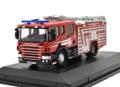 ミニカー OXFORD 1/76 OX76SFE010 スカニア CP31 消防車 シュロップシャー消防署 4548565351398