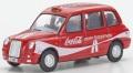 予約品 8月頃 ミニカー  オックスフォード Oxford 1/76 OX76TX408CC TX4 タクシー コカ・コーラ 4548565351008