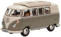 お取り寄せ予約品 2020年4~6月頃 ミニカー  オックスフォード Oxford 1/76 OX76VWS006 VW T1 キャンピングカー マウスグレー/パールホワイト