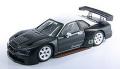 ミニカー EBBRO-P4  1/43 P417 ニスモ GT-R JGTC 1999 ウインターテスト(レジン製)