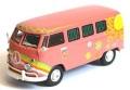 """ミニカー Premium ClassiXXs  1/43 PCS13851 VW T1 バス """"Flower Power""""(ピンク) 4548565288816"""